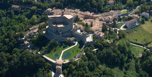 """""""Tracce Malatestiane"""": la Rocca di Montefiore Conca."""