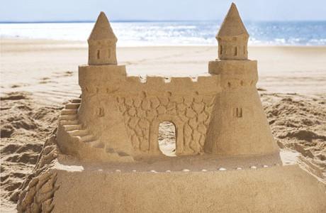 Giochi in spiaggia.