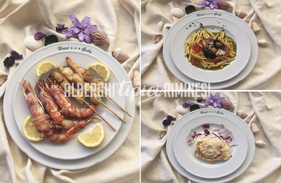 Cucina tipica riminese Hotel Gaby family Hotel Rimini