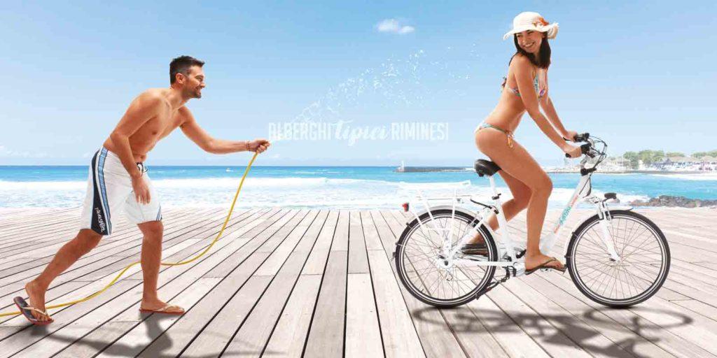 Rimini in bicicletta