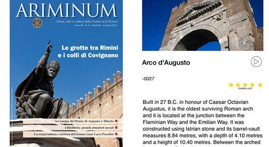 """E' arrivata su iTunes l'App """"Rimini Storia""""."""