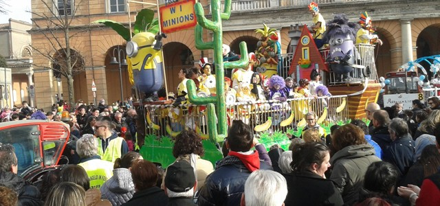 Santarcangelo in festa nel Carnevale