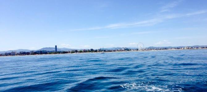 Escursione in barca lungo la costa.