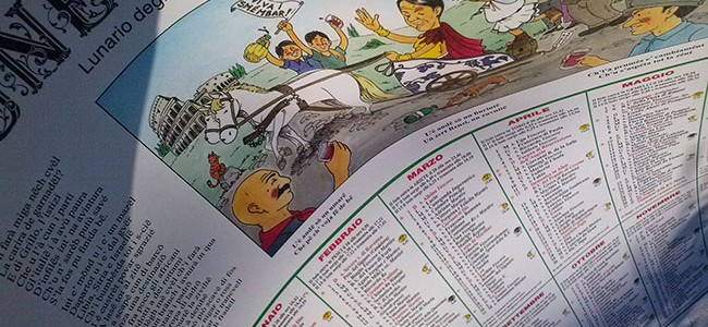 """Lunèri di smèmbar"": l'antico calendario romagnolo."