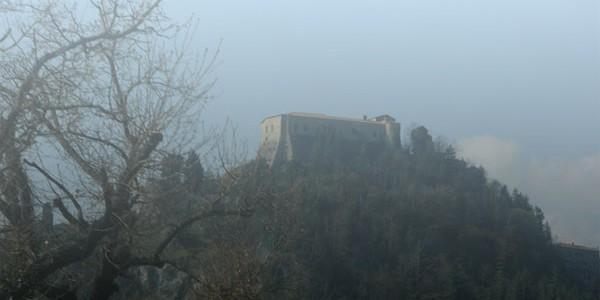 """""""Tracce Malatestiane"""": il Castello di Montebello."""