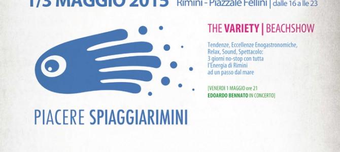 """1° Maggio: un'anticipo d'estate nel """"Piacere Spiaggia Rimini Village""""."""